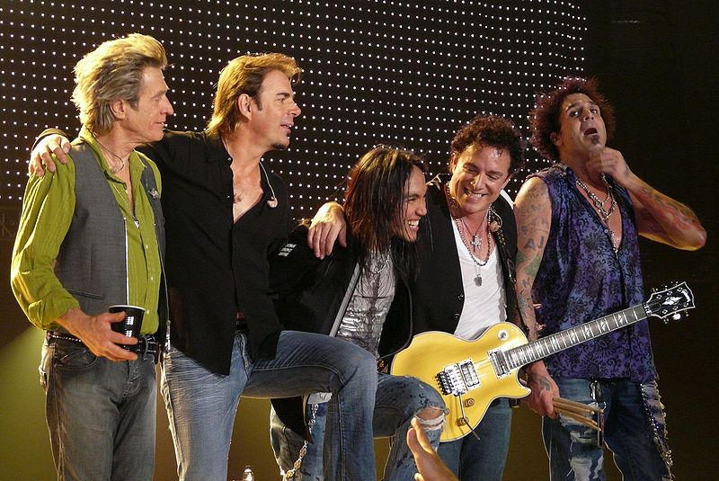 journey band. his Journey band members.