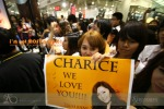 Notice the signature of Charice on the banner?