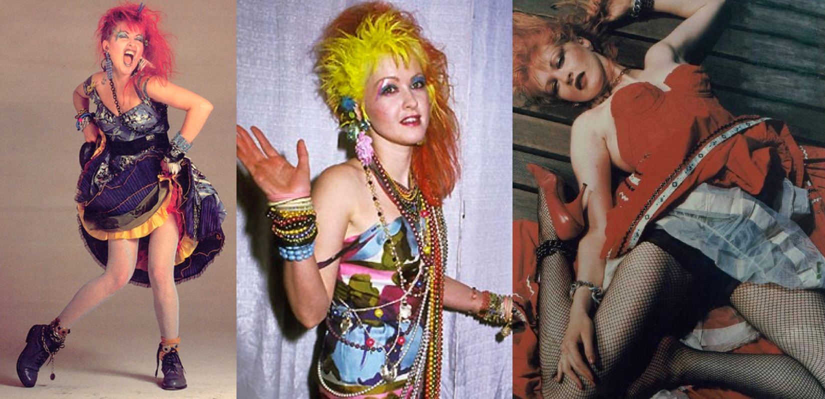 cyndi lauper in the 80 pictures