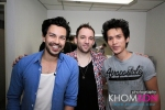 Aui of Khomson Photography (right) at the back stage with BJ (left) and Henry Seeley