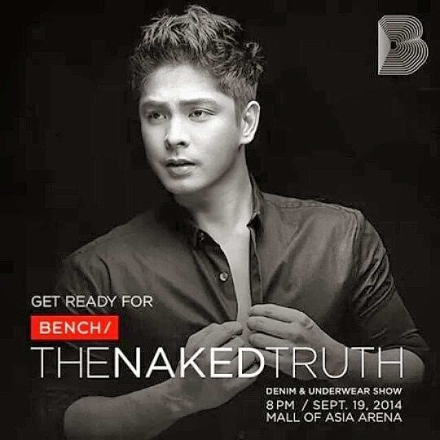 Coco Martin Bench The Naked Truth