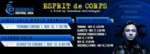 esprit de corps screening time