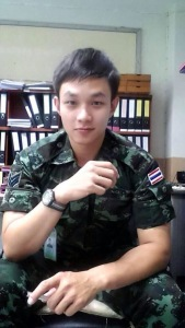 Thai Guy in Uniform 1