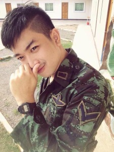 Thai Guy in Uniform 2