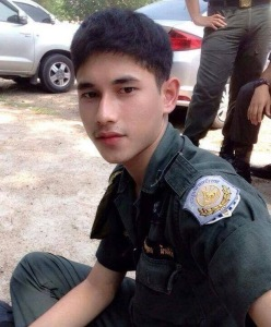 Thai Guy in Uniform 6