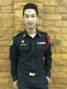 Thai Guys in Uniform 4